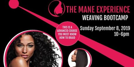 The Mane Experience  Weaving bootcamp tickets