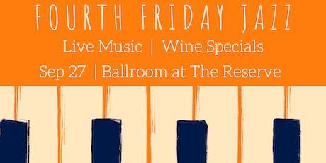 Fourth Friday Jazz tickets