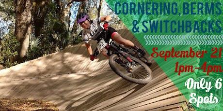 AJS MOUNTAINBIKE BICP SKILLS CLINIC: Cornering, Switchbacks & Small Circles tickets
