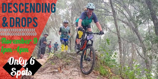 ADV | MOUNTAINBIKE SKILLS CLINIC: Descending, Drops & Roll Down Lunge
