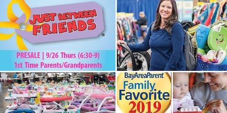 PRESALE: 1st Time Parent | JBF San Mateo/Bay Area KIDS' Sale, Fall 2019 tickets
