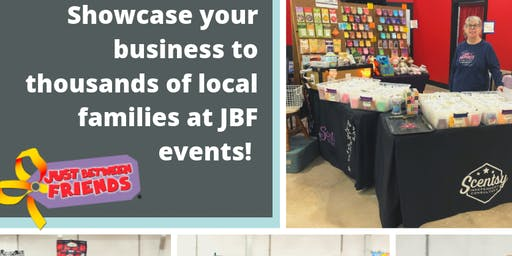 Vendor Booth at Huge Kids Shopping Event Oct 10/3-10/6 in Denton