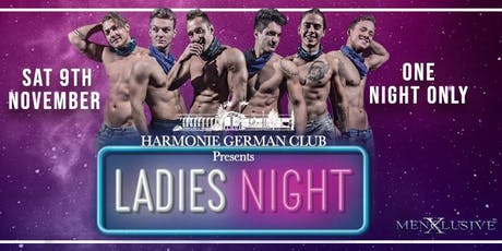 Canberra ladies Night MenXclusive 9 Nov tickets