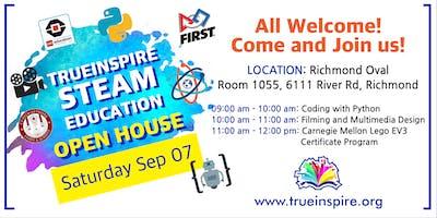TrueInspire STEAM Club Open House
