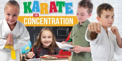 FREE Children's KARATE for CONCENTRATION August 17th