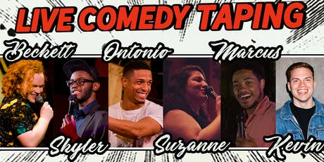LIVE Comedy Taping 8.22 tickets