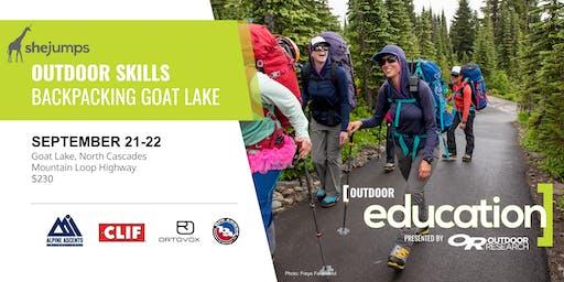 WA SheJumps Outdoor Skills: Backpacking Goat Lake