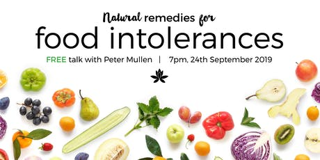 Natural Remedies for Food Intolerances  tickets