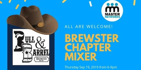 Brewster Chapter Networking Mixer with a Twist! tickets