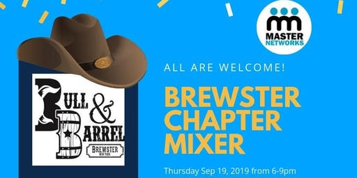 Brewster Chapter Networking Mixer with a Twist!