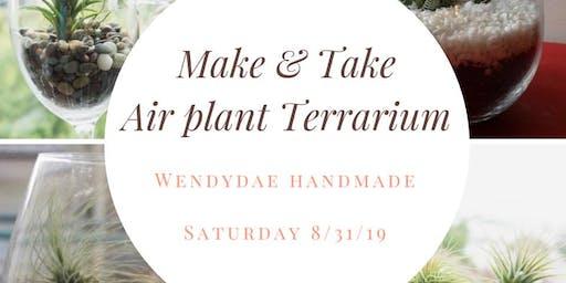 Make & Take Air Plant Terrarium
