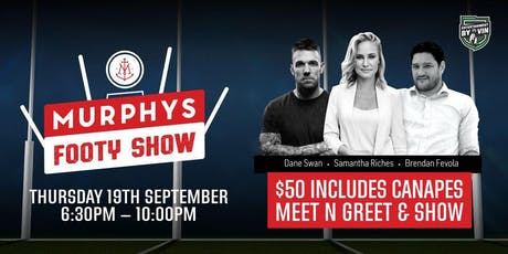 The Swanny & Fev Show - Grand Final Week tickets