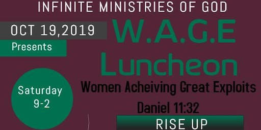 WOMEN LUNCHEON- Early Bird ticket for Sale.