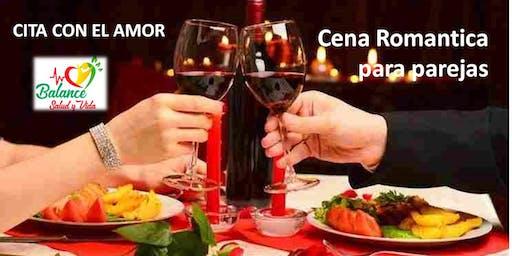 CITA CON EL AMOR (Cena romantica para parejas)