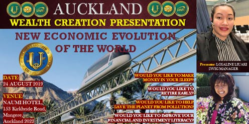 SWIG AUCKLAND The New Economic Evolution of the World