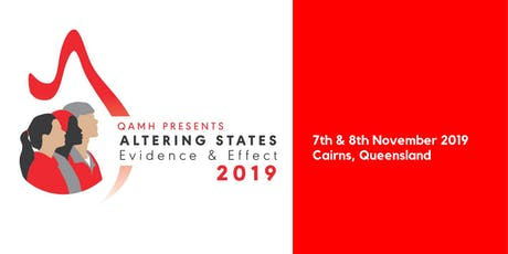 Altering States: Evidence & Effect Conference 2019  tickets
