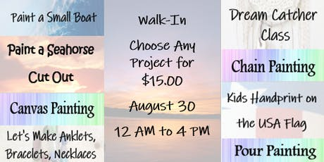 Walk-In: Choose Any Project for $15.00 tickets