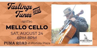 Live Music - Tastings & Tunes w/ Mello Cello