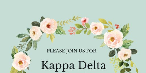 Kappa Delta Founders' Day 2019