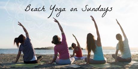 Beach Yoga on Sundays tickets