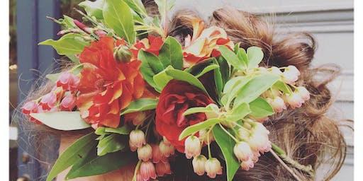 Flower Crown Workshop with Flowers Sow Urban
