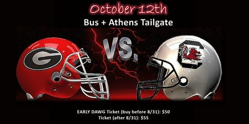 Annual UGA Bus and Tailgate!