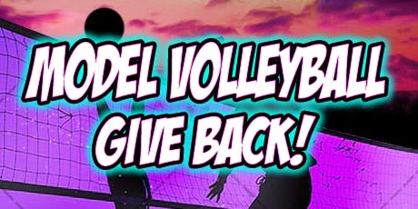 Model Volleyball Give Back
