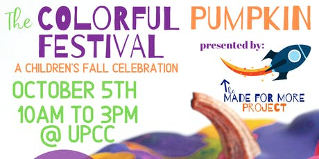 The Colorful Pumpkin Festival tickets
