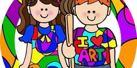 Monthly Thursday Kids Art Class Registration tickets