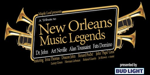 A Tribute to New Orleans Music Legends