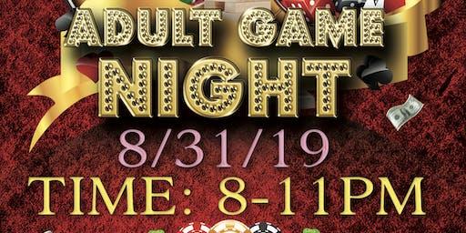 Adult Game Night