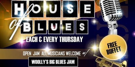 """The House Presents: """"House of Blues"""" Each Thursday tickets"""