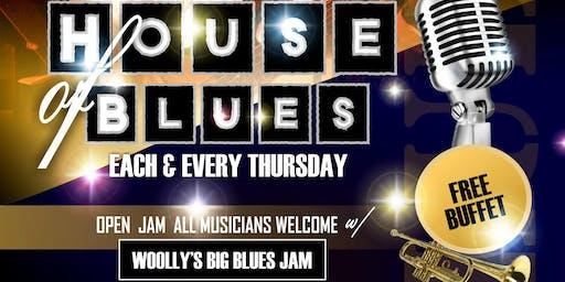 "The House Presents: ""House of Blues"" Each Thursday"