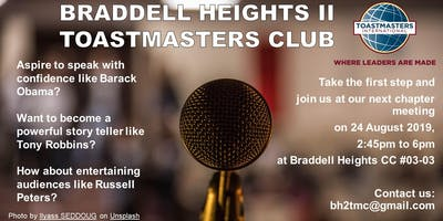 Braddell Heights II Toastmasters Club Chapter Meeting