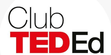 """Club TEDEd M. Zapata 2019- """"Jóvenes Inspiraciones"""" entradas"""