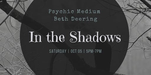 Into the Shadows Ghost hunt and Lecture