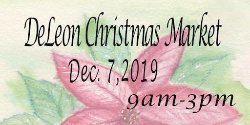 DeLeon Christmas Market