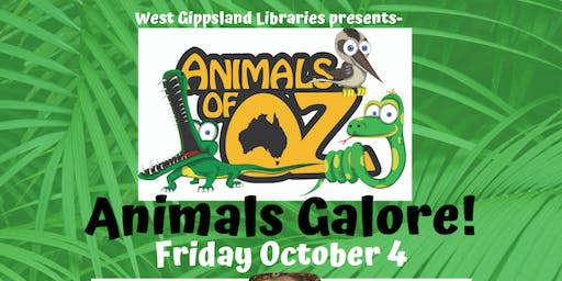 School Holiday Event- Animals of Oz- Animals Galore! @ Drouin Library