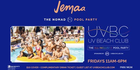 UV Beach Club - Las Vegas' All-Inclusive Pool Party! tickets