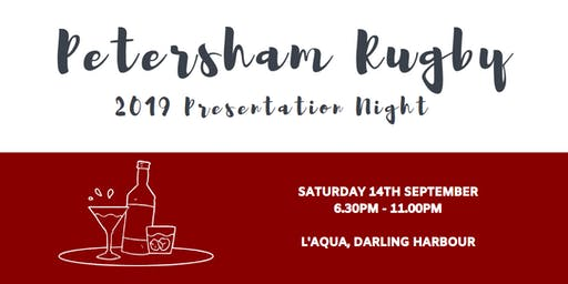 Petersham Rugby 2019 Presentation Night