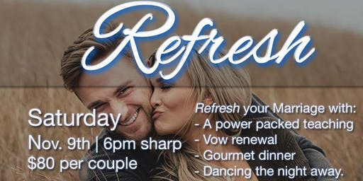 Refresh Couples Conference