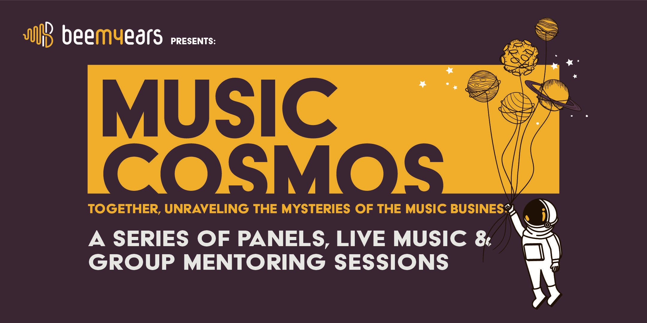 MUSIC COSMOS - Together, unraveling the mysteries of the music business.