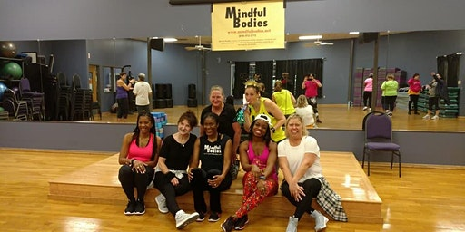 Mindful Bodies New Year's Eve Tues 12/31/19 (1970's) Dance Fitness Party