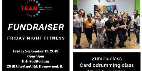 Fundraiser: Friday night fitness tickets