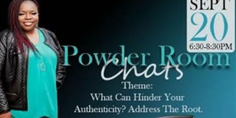 Copy of Authenticity by LNS 'Powder Room Chats' tickets