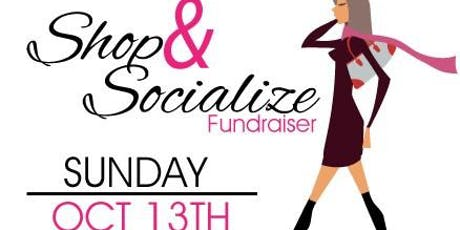 Sip, Shop and Socialize Fundraiser tickets