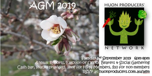 Huon Producers' Network AGM 2019