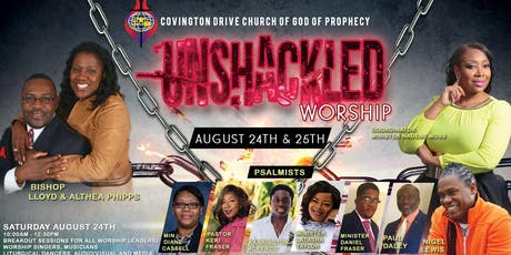Unshackled Worship 2019  tickets