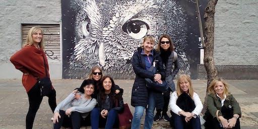 Lunes Feriado de Walking Tour Coghlan: arte urbano, paz suburbana