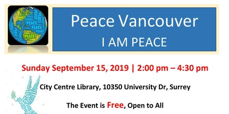 Peace Vancouver - City Center Library Surrey tickets